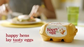 the happy egg co. TV Ad 2016 - See how happiness spreads