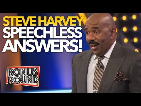 10 FAMILY FEUD US ANSWERS That Left STEVE HARVEY SPEECHLESS