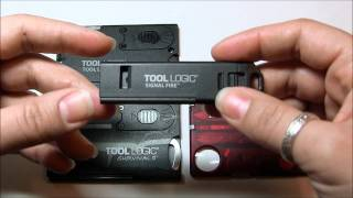 Multi-tool card comparison - Tool Logic and Victorinox