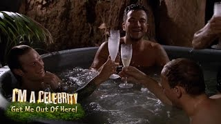 Hot Tub Bromance | I'm a Celebrity Get Me Out Of Here!