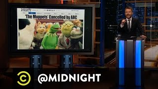 The Muppets Take Unemployment - @midnight with Chris Hardwick