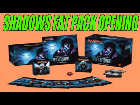 SHADOWS OVER INNISTRAD FAT PACK OPENING -MTGHeadQuarters