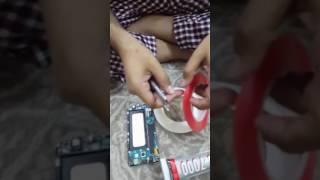 طريقة فك وتركيب شاشة جوال سامسونق SAMSUNG A5 وكيبل شاشة نوت 10