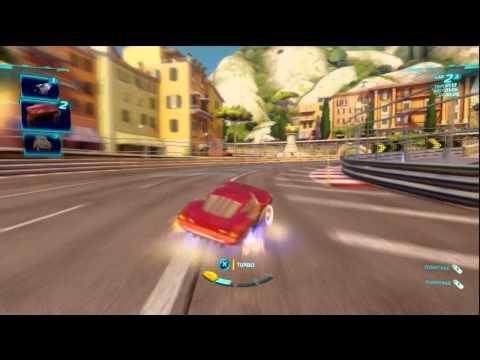 Cars 2 gameplay race gram.pl