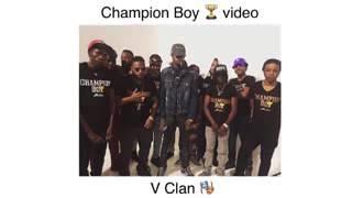 Alkaline champion boy video shoot (behind the scen