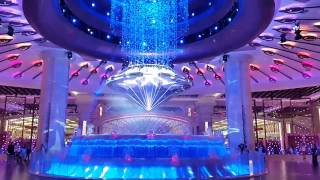 Under water Flexible LED Curtain  in Galaxy Macau Hotel Diamond Show