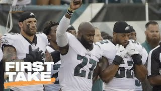 Chris Long Supports Eagles Teammate Malcolm Jenkins