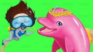 Sweet Baby Summer Fun 2 - Summer Cool Activities Dolphin Rescue Kids Game #GARMAY
