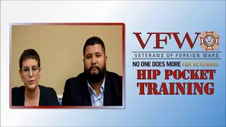 Hip Pocket Training: National Veterans Service - VA Forms