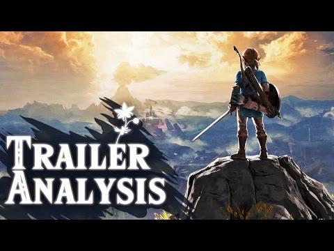 watch Zelda: Breath of the Wild Nintendo Switch Trailer FULL ANALYSIS (In-Depth)