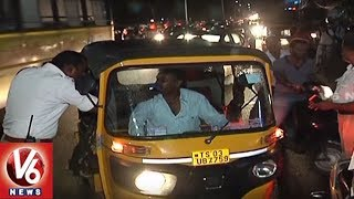 Warangal Police Conducts Drunk And Drive Test Across City | V6 News