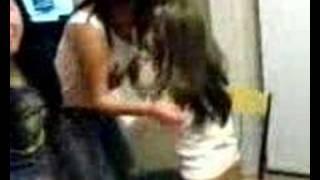 Girls grabbing each others boobs