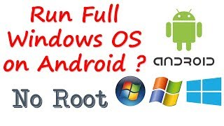 Run Full Windows OS on Android Mobile   Bengali
