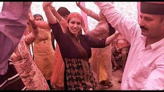 Nati Sirmour Waliye | Pahari Dance in Party | Pahari Nati Song | Latest Studio