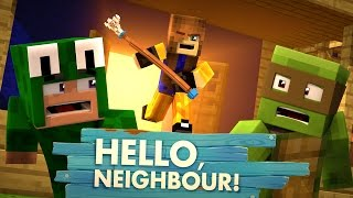 Minecraft Baby Hello Neighbour - THE NEIGHBOUR IS A GIRL!?