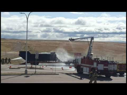 Colorado Springs Mass Casualty Drill, Mock Downed Aircraft Exercise