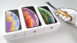 New iPhone XS and XS Max Unboxing (Gold & Silver) + Fortnite Battle Royale + Apple Watch Series 4