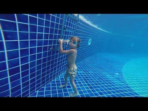 Hotel Pool Jumps Fun - Maldives Holidays