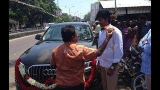 Siva Karthikeyan owns a brand new Audi Q7 | Varutha Padatha Valibar Sangam | Hot Tamil News