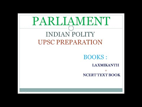 Indian Polity : Rajya Sabha for IAS/UPSC by Laxmikanth and ncert text books.