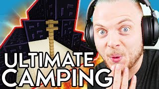 ULTIMATE CAMPING in BEDWARS!! W/AshDubh