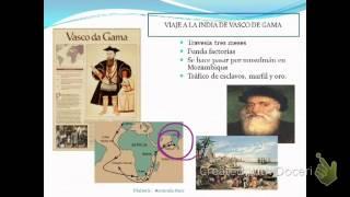 Exploraciones del siglo XV y XVI