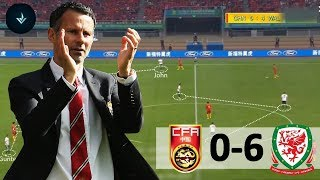 Ryan Giggs FIRST game as Wales manager - China vs Wales (Tactical/Tactics Analysis )