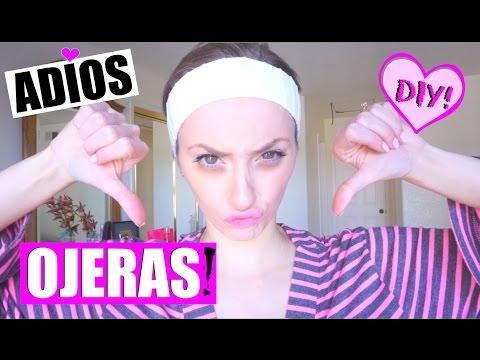 CÓMO ELIMINAR LAS OJERAS!! DIY: Fácil y Rápido! | Adiós Ojeras y Bolsas en los ojos! | Katie Angel
