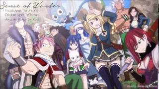 【Fairy Tail】Sense of Wonder (Fairy Tail Opening 2 English) 【Annie】