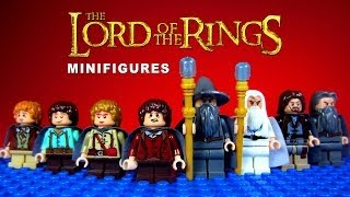 LEGO The Lord of the Rings / The Hobbit KnockOff Minifigures Set 1 (Bootleg)