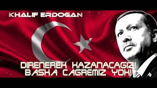 """Erdoğan: """"Kaçmayacağız! Direnerek Kazanacağız, Başka çaremiz yok!"""""""