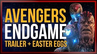 AVENGERS:ENDGAME - Trailer Analyse und Easter Eggs | [onsXreen]