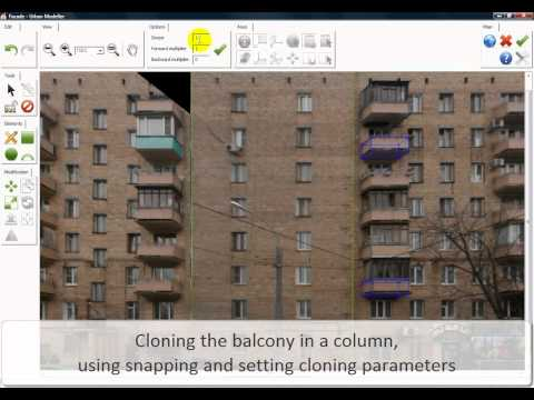 Create realistic 3D buildings from photos 3x faster with 3D UrbanModeller software