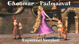 Ghoomar - Padmaavat | Animated Song | Rapunzel Kingdom Dance
