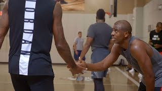 CP3 evolving style with All-Star pickup game | Chris Paul's Chapter 3 | ESPN