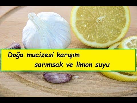 Yüzde yüz kanıtlanmış limon sarımsak mucizesi