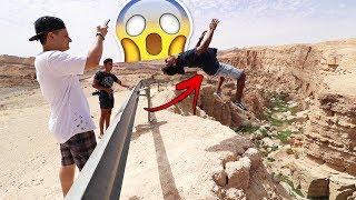 أخطر حركة على إرتفاع 100 متر!! (شوفوا وش صار!!!) 😱
