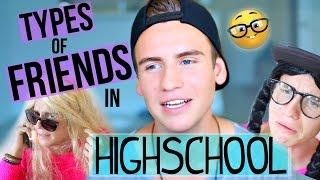 Types Of Friends In High School!