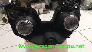 Pembuatan headlamp projector oem by request