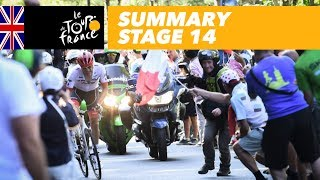 Summary - Stage 14 - Tour de France 2018