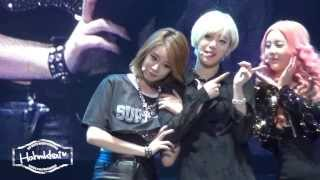 [Hahmkkai]131221 T-ARA ON AIR in Guangzhou - Dance Battle(Eunjung)