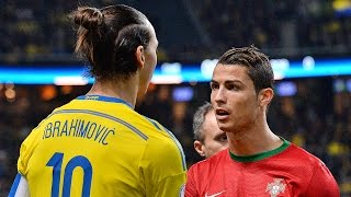 Cristiano Ronaldo Vs Zlatan Ibrahimovic ● Battle For Best Goals 2015 ||HD||
