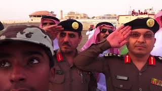 رفع العلم السعودي في  أعلى موقع بمحافظة عنيزة
