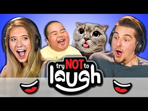 Try To Watch This Without Laughing or Grinning 52 REACT