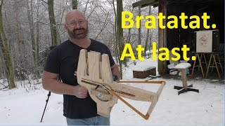 A Dream Came True: Home Made Full Auto Crossbow!