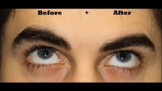How To: Man Brows