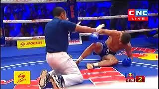 Phan Kron, Cambodia Vs Javad Bigdeil, Iran, Khmer Warrior CNC Boxing 15 September 2018