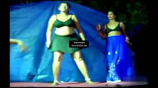 Latest Telugu Recording Dance Performed on Stage in Village