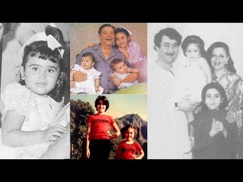 Meet Karishma Kapoor Through Her Rare Childhood & Young Photos!