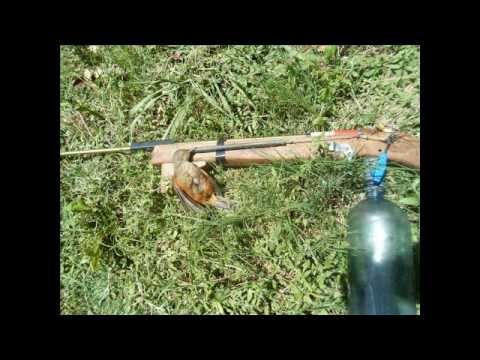 rifle comprimido casero Caza